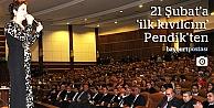 21 Şubat kutlamaları Pendik'ten başladı