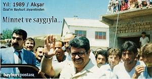 22 yıl sonra minnetle anılan lider: Turgut Özal