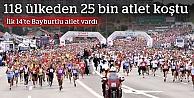 25 bin atlet, İstanbul Maratonu'nda koştu