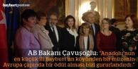 """AB Bakanı Mevlüt Çavuşoğlu: """"Gururlandık"""""""