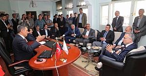 Ağbal ve Bilgin, Aydıntepe Belediyesi#039;nde
