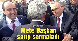 Ağbal ve Özbek'e coşkulu karşılama