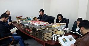 AK Parti Gençlik Kollarından kitap bağışı