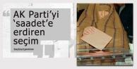 AK Parti'yi 'saadet'e erdiren seçim