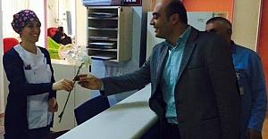 Akbaş, 14 Mart Tıp Bayramı'nı kutladı