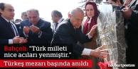 Alparslan Türkeş, kabri başında anıldı