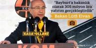 Bakan Elvan, Köprülü Kavşağı'nın açılışına katıldı