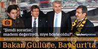 Bakan Güllüce Bayburt'ta