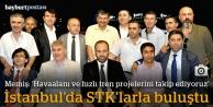 Başkan Memiş, İstanbul'da STK'larla buluştu