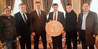 Başkan Şentürk'ten Vali Şahin'e ziyaret