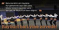Bayburt bar ekibinden Türkiye derecesi