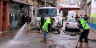 Bayburt Belediyesi temizlik mesaisinde