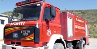Bayburt Belediyesi'ne itfaiye aracı