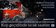 Bayburt Erzurum karayolunda son durum!