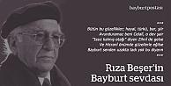 Bayburt sevdalısı Arapkirli şair ağabeyi: Rıza Beşer
