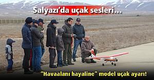 Bayburt'ta Radyo Kontrollü Model Uçak Kursu