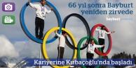 Bayburt tarihine not: Olimpik Sporcu Emre Şimşek