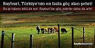 Bayburt, Türkiye'nin en fazla göç alan şehri!