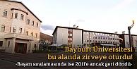 Bayburt Üniversitesi bu alanda zirveye oturdu!