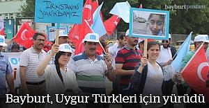Bayburt, Uygur Türkleri için yürüdü