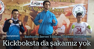 Bayburtlu Servet Yıldırım, Türkiye Şampiyonu