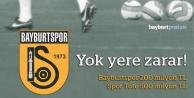 Spor Toto ve Bayburtspor'a ağır fatura!