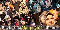 Bayburt'ta Nihat Hatipoğlu izdihamı