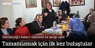 Bayburt'un girişimci kadınları ilk kez buluştu