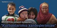 MÜSDER'den 'kurban kampanyası'