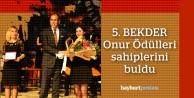 BEKDER Onur Ödülleri 5 Yaşında