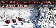 Bölgenin kış turizmi koridoru genişliyor