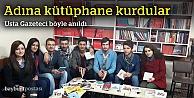 CHP'li gençler usta gazeteciyi unutmadı