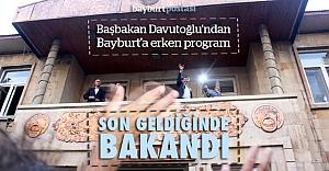 Davutoğlu'nun Bayburt miting tarihi belli oldu