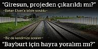 Demiryolu projesi 'henüz' etüt aşamasına gelecek!