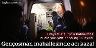 Ehliyetsiz sürücü kaldırıma çıktı: 1 ölü,1 yaralı