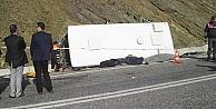 Isparta'da feci kaza: 17 ölü, 28 yaralı!
