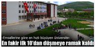 En hızlı büyüyen üniversite oldu!
