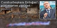 Erdoğan'ın dikkatini çeken dev pankartlar