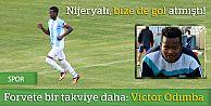 Forvete bir takviye daha: Victor Odımba