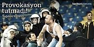 Futbol terörü, dün akşamı teğet geçti!