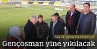 Gençosman Stadı büyük güne hazırlanıyor