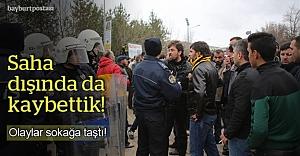 Gençosman#039;daki olaylar sokağa da taştı