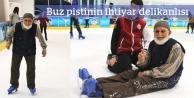 Hasan Dede buz pistinde
