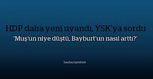 HDP: quot;Bayburt#039;un vekil sayısı...