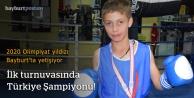 İlk turnuvasında Türkiye Şampiyonu oldu!