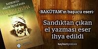 İrşâdî ve Ağlar Baba'nın 'Kısas-ı Enbiya'sı ilk eserini verdi