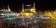 Kadir Gecesi'nde on binler Mevlana Meydanı'nda buluştu