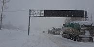 Kop'ta kar yağışı arttı: Ulaşımda son durum