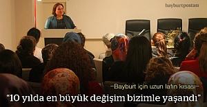 Karadenizli girişimci kadınlar Bayburt'ta buluştu
