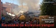 Karasakal Mahallesi'nde korkutan yangın